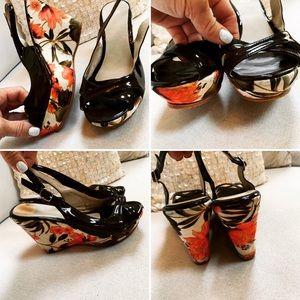 CLN Wedges NWOB EURO Sz 38 FALL shoes heels